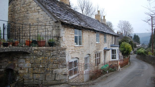 Glendower cottage in Nailsworth, Gloucestershire