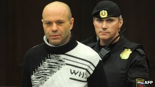 Dmitry Pavlyuchenkov in court. Photo: 14 December 2012