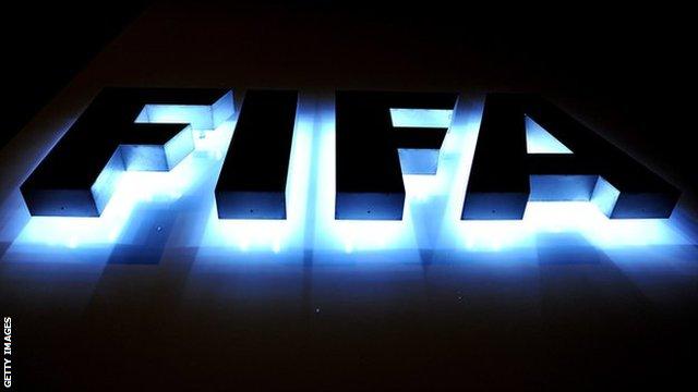 A Fifa logo