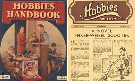 Hobbies magazine from 1942