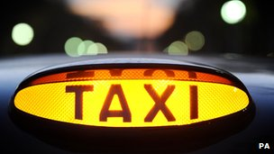 London Taxi light