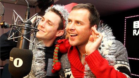 Scott Mills and sidekick Chris Stark