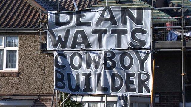 Cowboy builder poster