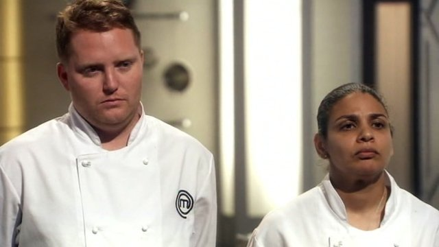 Anton Piotrowski and Keri Moss were named joined winners of Masterchef: The Professionals 2012