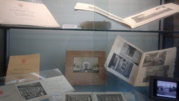 Shenley Hospital exhibits.