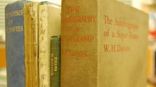WH Davies books found in his former Nailsworth home