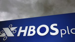 HBOS signage