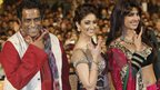 Left to right: Director Anurag Basu, Bollywood actress Ileana D'Cruz and Bollywood actress Priyanka Chopra at the Jemaa El Fana Square during the Marrakech International Film Festival in Morocco – Friday 7 December 2012
