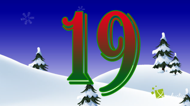 BBC Sport's advent calendar - 19 December