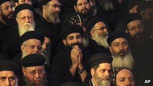 Egyptian Coptic priests