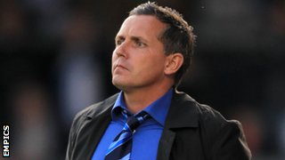 Former Bristol Rovers manager Paul Buckle
