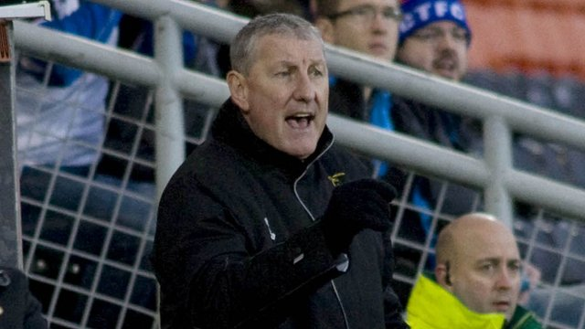 Inverness CT boss Terry Butcher