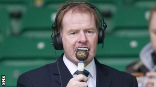 BBC Radio Scotland football pundit Murdo MacLeod