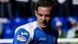 Peter Pawlett in action for St Johnstone