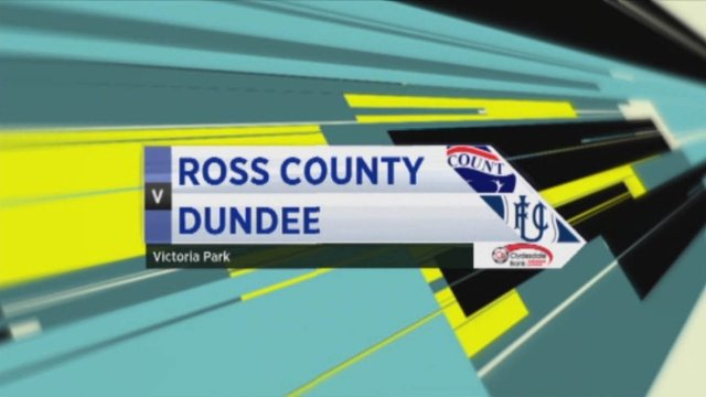 Ross County v Dundee
