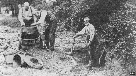 Piltdown dig