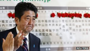 Shinzo Abe. Photo: December 2012