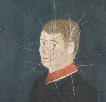 Craigie Aitchison Self portrait