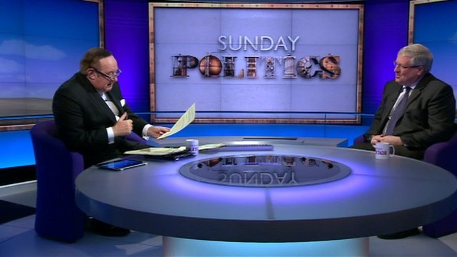 Andrew Neil and Patrick McLoughlin