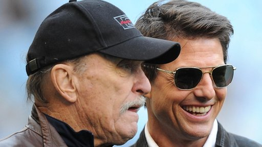 Robert Duvall and Tom Cruise