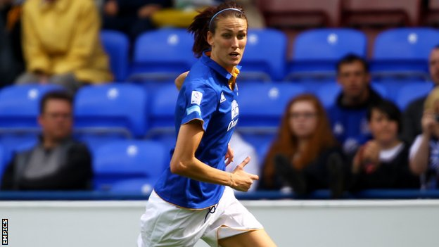 Everton Ladies and England midfielder Jill Scott