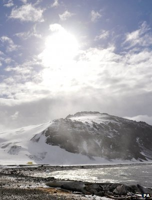 Antarctic research station (Image: PA)