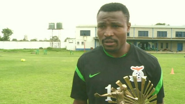 Christopher Katongo, 2012 BBC African Footballer of the Year