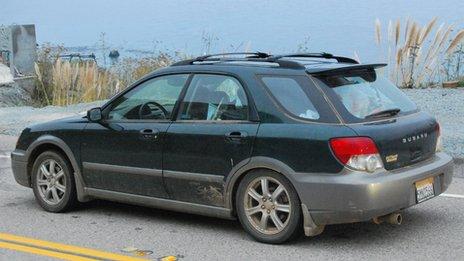 Subaru Outback in California