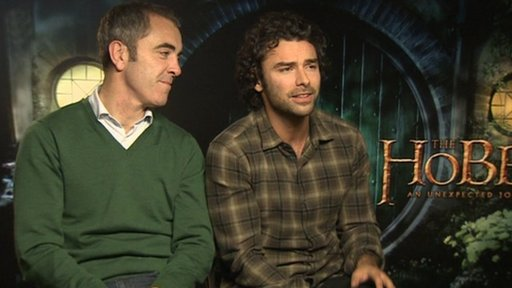 James Nesbitt and Aidan Turner