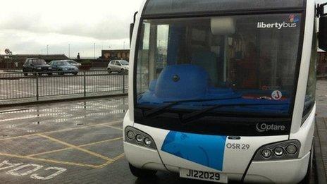 New Liberty Bus