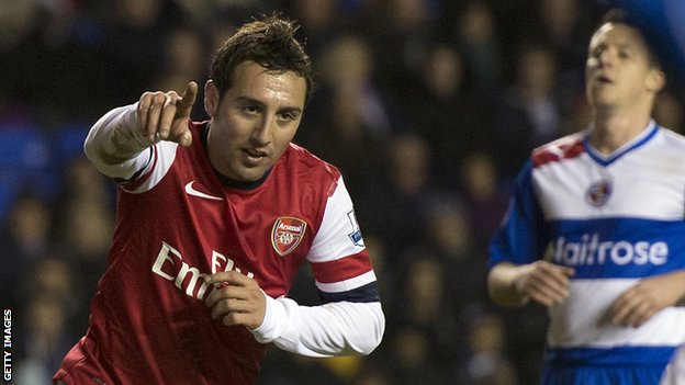 Arsenal&#039;s Santi Cazorla