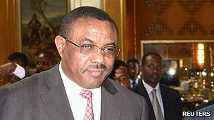 Ethiopian Prime Minister Hailemariam Desalegn