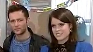 Harry Judd and Princess Eugenie