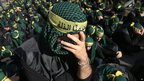Shia Muslims listen to the death story of Imam Hussein during the Ashura ceremony in Beirut, Lebanon. Photo: 25 November 2012