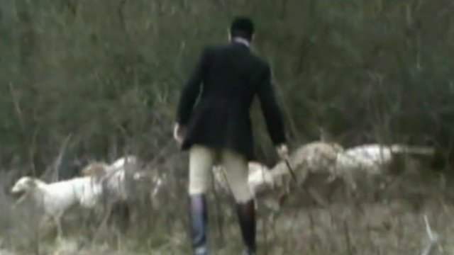 Film gathered by anti-hunt monitors in 2012