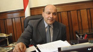 Former public prosecutor Talaat Ibrahim in a file image from November 2012