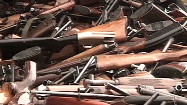 Reclaimed guns