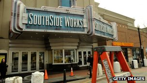 Southside Works Cinema in Pittsburgh, Pennsylvania