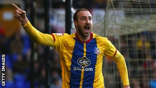 Crystal Palace striker Glenn Murray