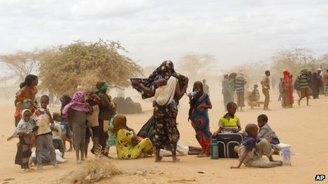 Refugees in Dadaab (file photo)
