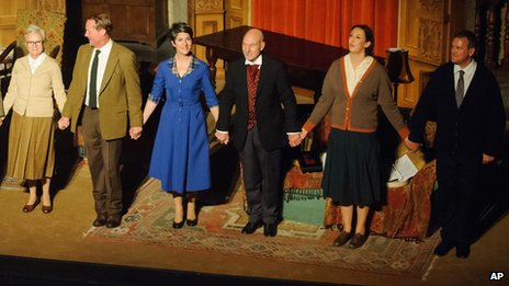 The Mousetrap 60th birthday cast