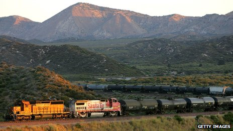 Train in California