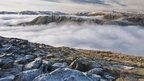 Cloud inversion over Dunmail Raise, near Thirlmere