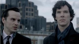 Moriarty and Sherlock