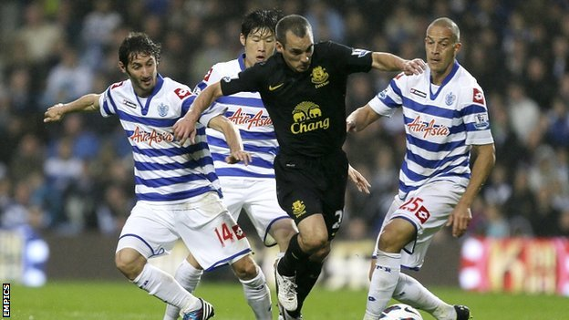 Esteban Granero, Park Ji-sung and Bobby Zamora