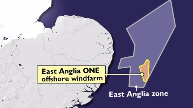 Graphic of area of wind farm