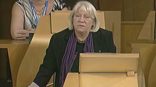 SNP MSP Sandra White