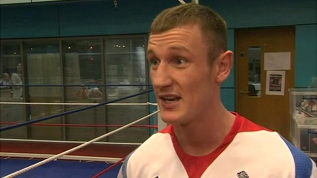 Team GB Boxing Captain, Tom Stalker