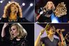 Whitney Houston, Madonna, Adele and Gotye