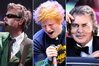 Beastie Boy Adam Yauch, Ed Sheeran and Engelbert Humperdinck